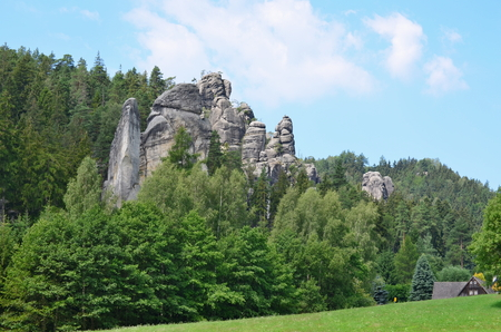 rock formations, Adrspach-Teplice National Nature Reserve, Czech Republic Reklamní fotografie
