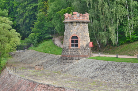 The Forest Kingdom is a reservoir dam on the River Elbe built in 1920, the Czech Republic