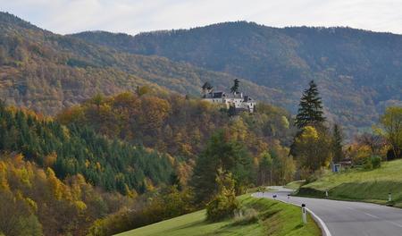 autumn landscape, region Wachau, state Austria