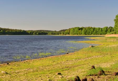 ponds in the countryside of South Bohemia, Czech Republic Reklamní fotografie - 101529720