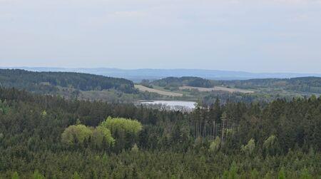 spring landscape, southern Bohemia . Czech Republic Reklamní fotografie - 125367900