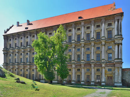 Plumlov is a castle rebuilt into a chateau in the town of the same name in the district of Prostejov. It was founded at the turn of the thirteenth and fourteenth centuries,  Czech Republic