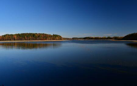 ponds in the countryside, Kaclezsky Pond of South Bohemia, Czech Republic Reklamní fotografie