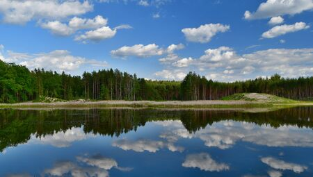 ponds in the countryside of South Bohemia, Czech Republic