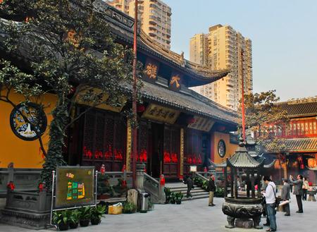king kong: Shanghai Jade Buddha Temple