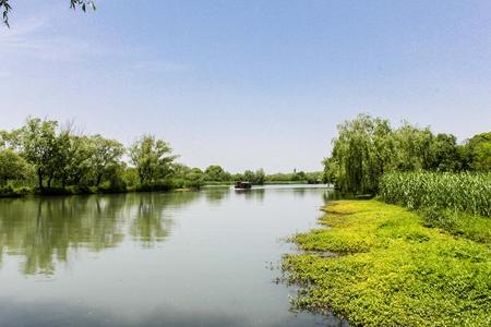 Zhejiang Hangzhou xixi wetland landscape