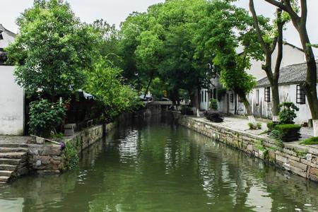 jiangsu: Suzhou, Jiangsu tongli scenery Stock Photo