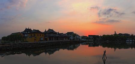 wen: Jinxi town Kunshan, Suzhou, scenery