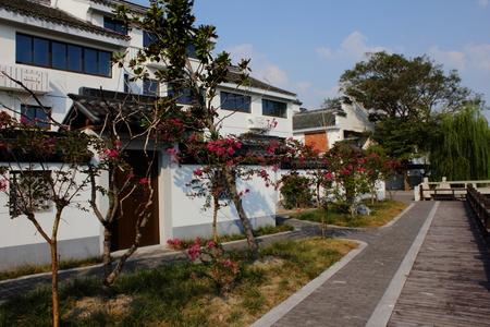 wen: Scenery view of Jinxi town Kunshan, Suzhou
