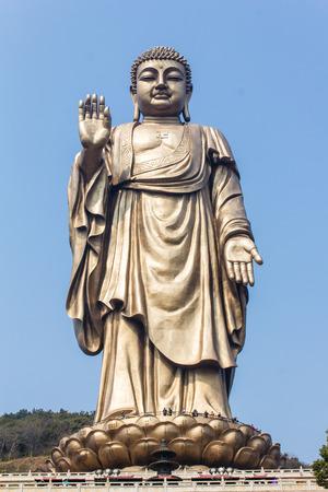 grand buddha: Grand Buddha at Ling Shan