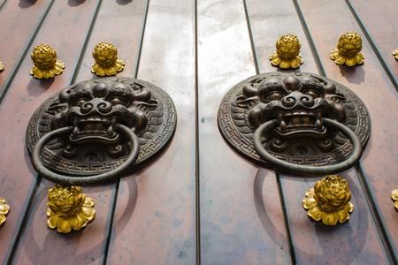 door knob: ancient chinese door knob