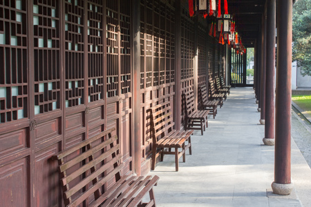 confucian: Confucian Temple in Jiading, Shanghai Stock Photo