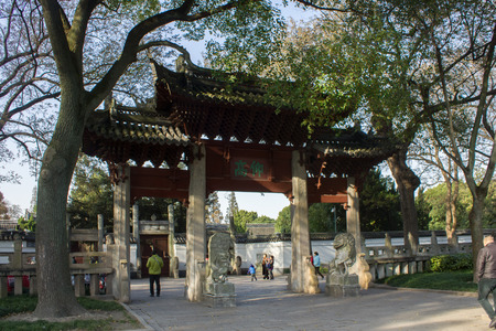 confucian: Confucian Temple in Jiading, Shanghai Editorial