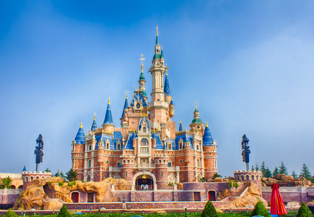 The grand opening of Shanghai Disneyland 新聞圖片