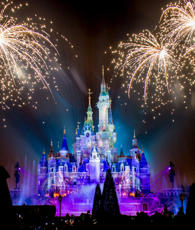 2016-6-17, Disneyland, Shanghai Editorial