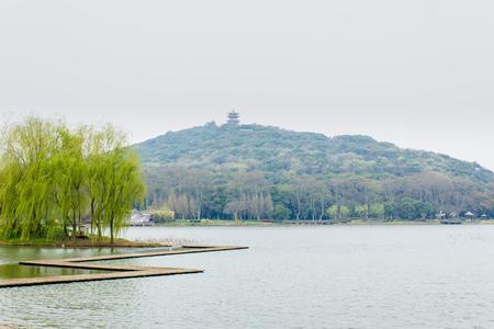islet: Wuxi Turtle Head Islet scenery