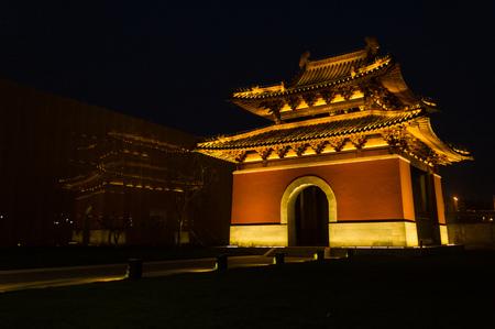 Nanjing Dabaoen Temple Ruins Park glass tower