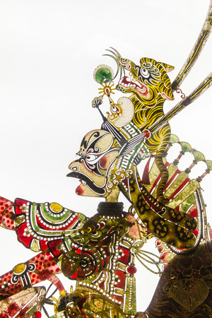 traditional custom: chinese shadow puppet
