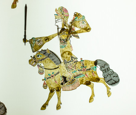 traditional custom: Chinese Shadow Puppetry Editorial