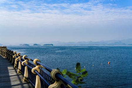 Hangzhou Qiandao Lake scenery Reklamní fotografie