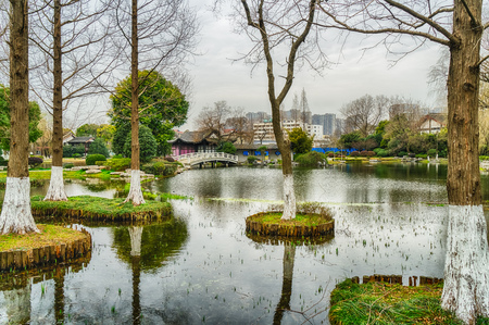 Nanjing Mochouhu park scenery