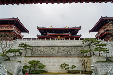 Niushou Mountain Scenic Spot Foding Temple