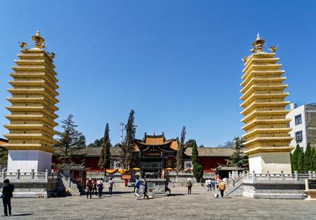 Kunming Guandu ancient town, Yunnan Editorial