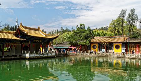 Dragon Temple, Black dragon Pool Park, Kunming