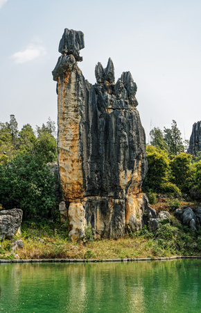 Yunnan Kunming Stone Forest scenery