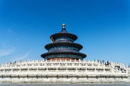 北京天壇公園 写真素材