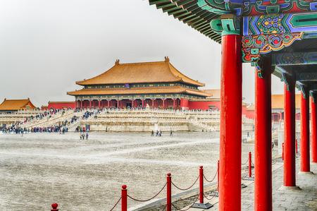The Imperial Palace in Beijing Redakční