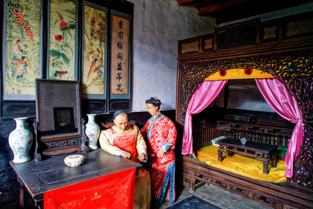 Shanxi Pingyao County auspicious day Editorial