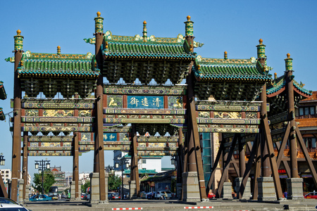 Four archway in Datong, Shanxi
