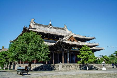 Shanxi Datong Huayan Temple