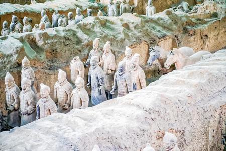 Terracotta Army Museum in Qin Shihuang, Xian, Shaanxi