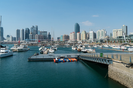 Shandong Qingdao Olympic Sailing Center scenery