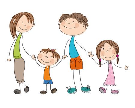 babygirl: Happy family icon.