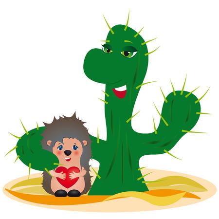 Adoption concept - original funny vector illustration Illustration