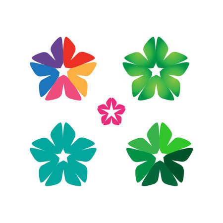 Cloverleaf concept idea design. simple, clean, elegant vector icon illustration inspiration