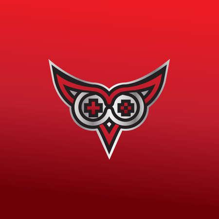 e-sport logo design for gaming company. vector icon illustration inspiration