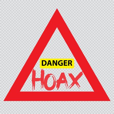 Denger hoax sign