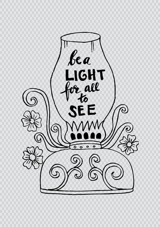 luminary: Be a light for all to see motivational quote