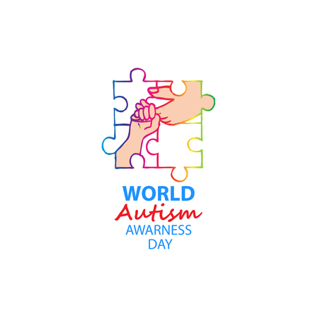 World autism awareness day Ilustracja