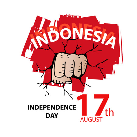 Independence day of Indonesia.
