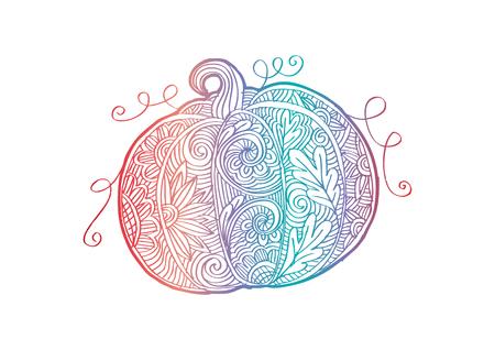 Decorative style of Pumpkin