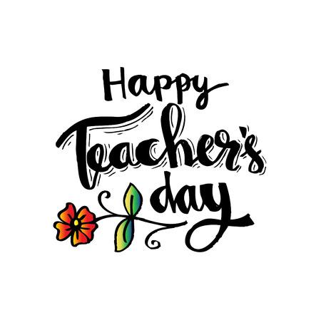 Happy Teacher's Day Stock Vector - 86847989