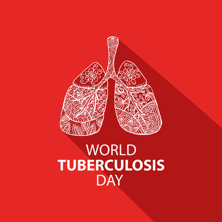 World tuberculosis day concept