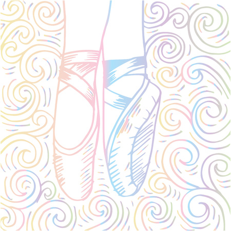 Sketch of Legs and shoes