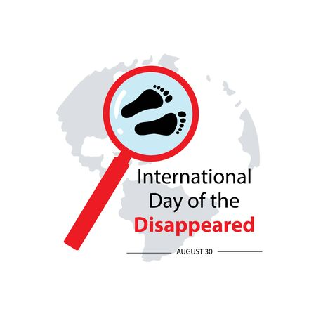 International Day of the Disappeared. August 30