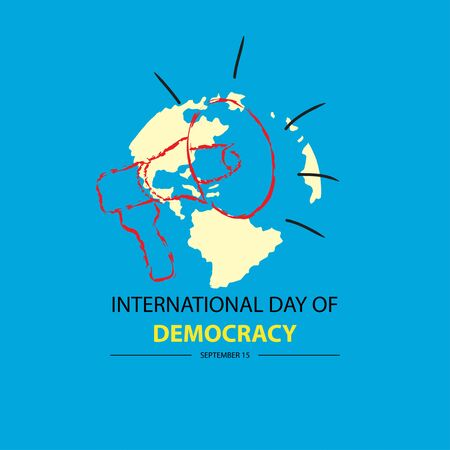 International Day of Democracy. September 15. Reklamní fotografie - 128566260
